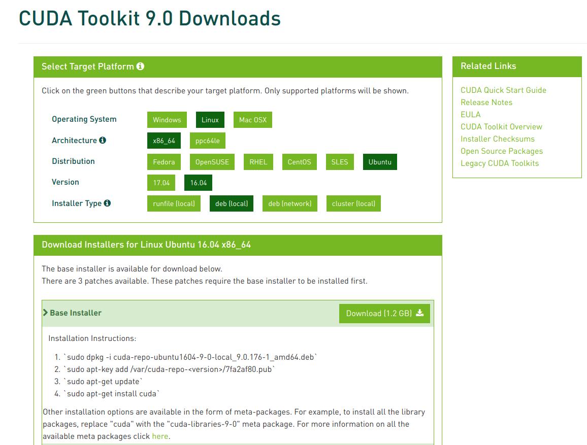 How to install CUDA-9 0 on with cuDNN-7 1 4 on Ubuntu 18 04
