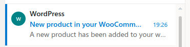 email received after a product is added in WooCommerce